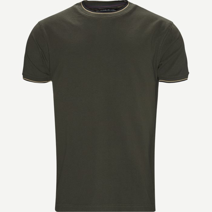 T-Shirts - Regular - Oliv